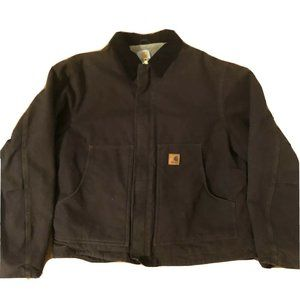Carhartt J164 Sherpa Lined Barn Chore Jacket Coat